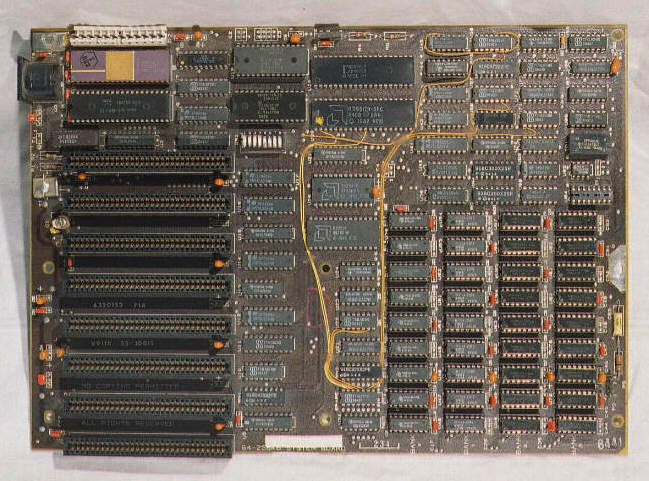 Modifications To Ibm 5160  5155 Motherboard