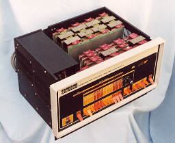 PDP-8/F - Power Supply, Memory and Omnibus.